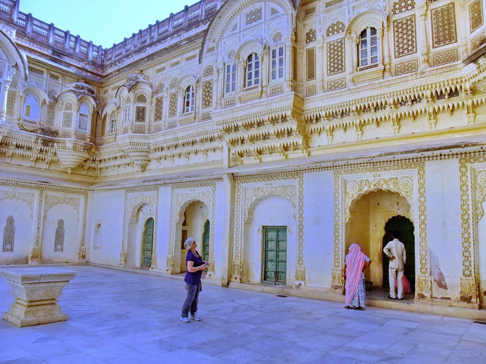 Visites du Mehrangarh Fort et des différents musées