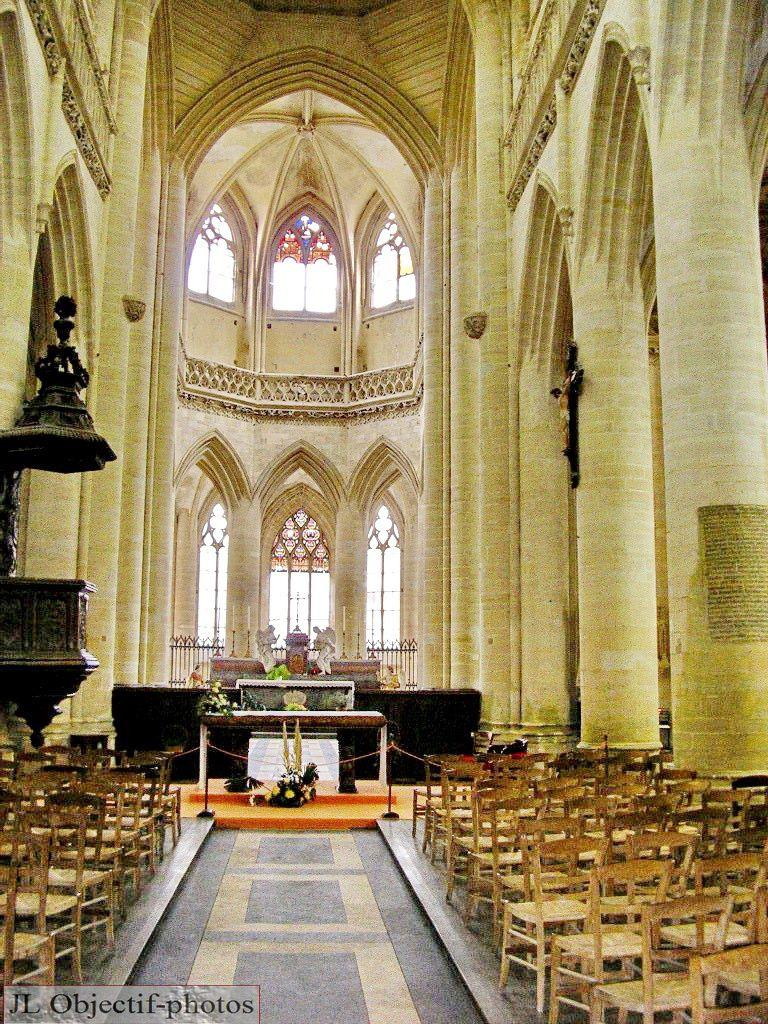 Cathédrale de Coutances, Manche, Basse Normandie