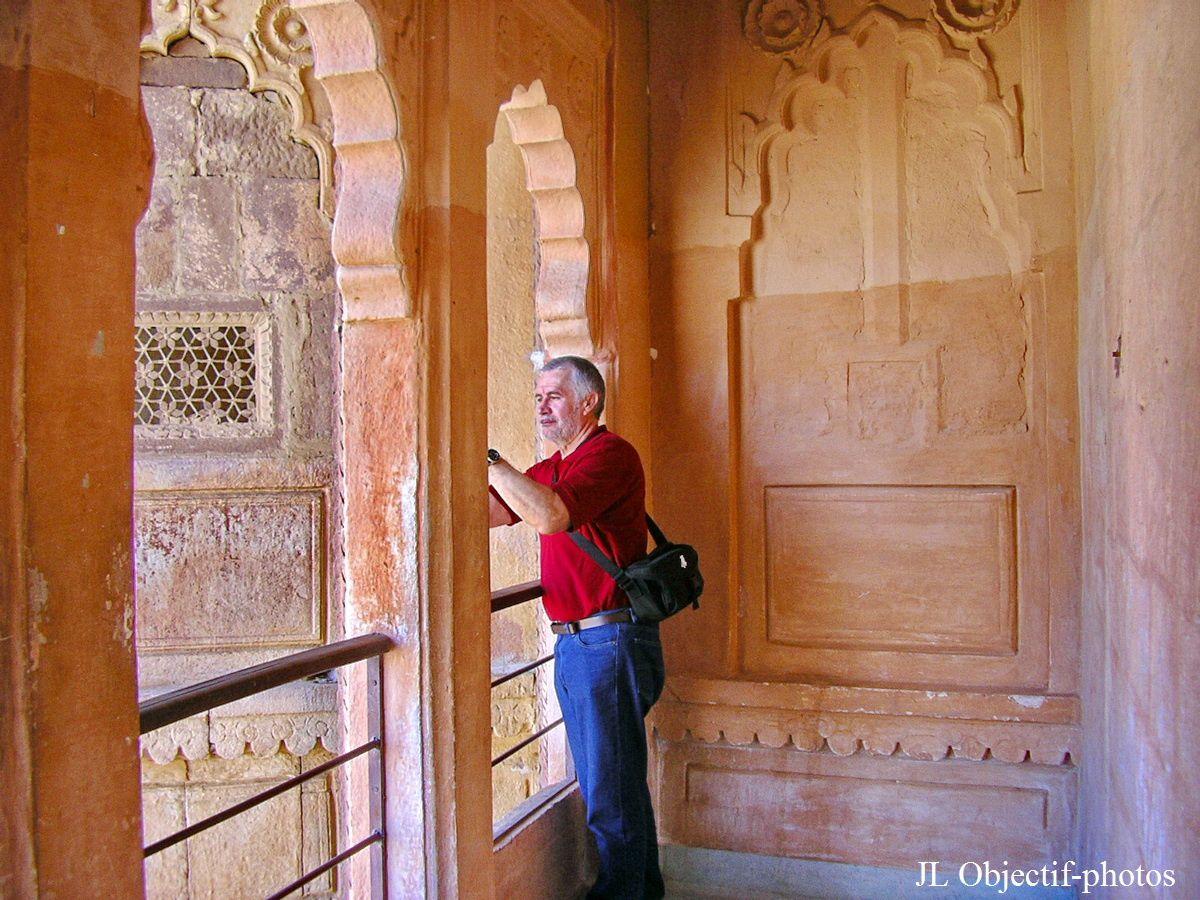Mehrangarh Fort  Jodhpur, Rajasthan India. Quite good from here!