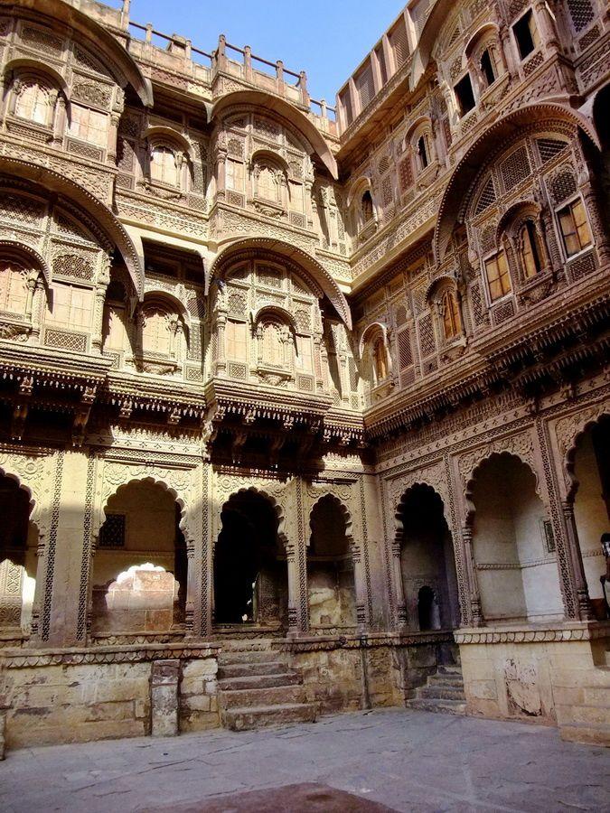 Fort Mehrangarh. Jodhpur, Rajasthan Inde