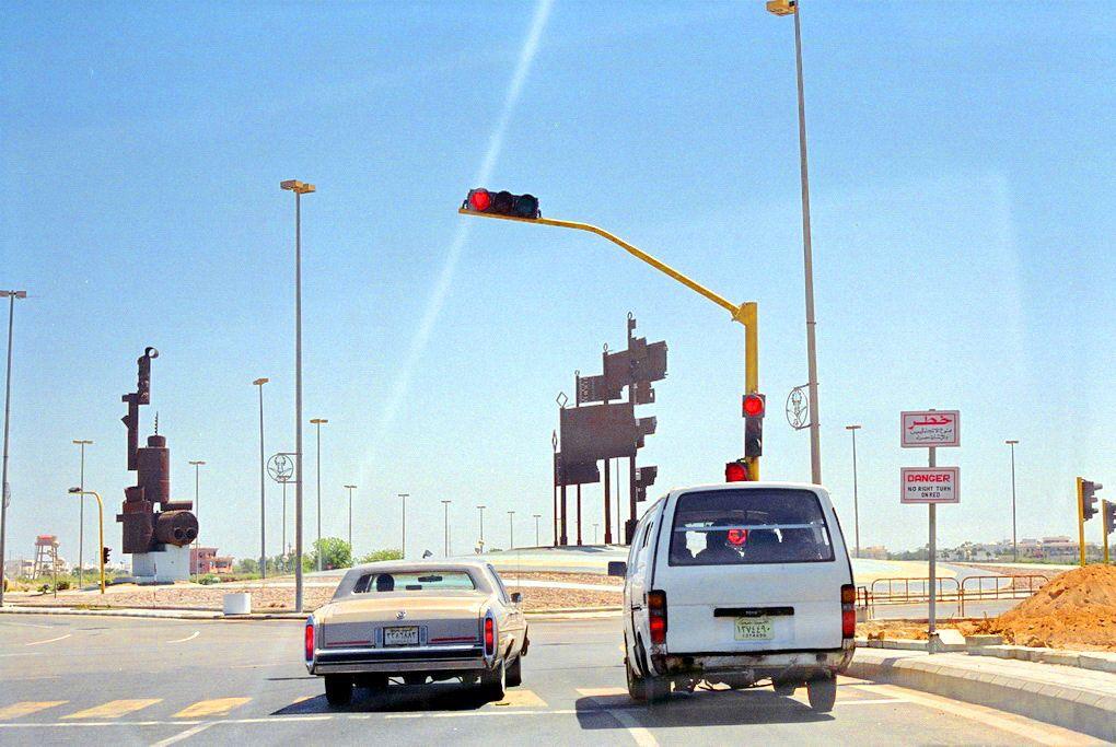 STOPS Jeddah, Arabie Saoudite, Traffic lights Jeddah Saudi Arabia