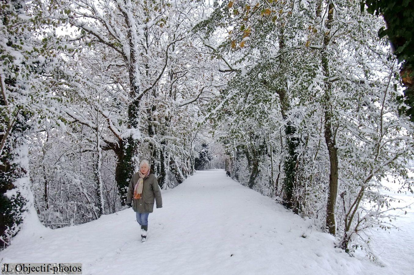 Normandie, Manche, Quettreville-sur-Sienne, Trelly, neige 03-12-2010, photo Normandy, Manche, Basse Normandie,France