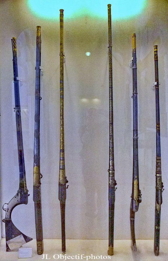 Fort Mehrangarh armurerie musée Jodhpur Rajasthan Inde. Mehrangarh  Fort museum armoury Jodhpur Rajasthan India