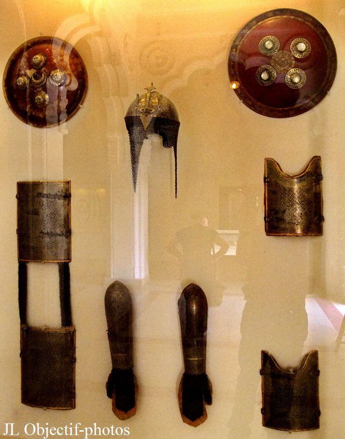 Fort Mehrangarh armurerie musée armures moghol Jodhpur Rajasthan Inde