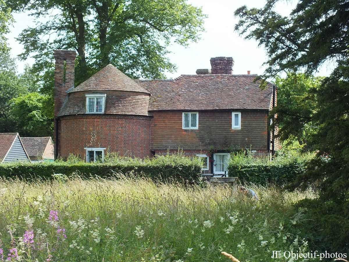 Le moulin de Bateman, Burwash, Est-Sussex, Angleterre