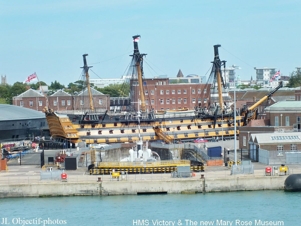 Hms Victory & the Marie Rose museum Portsmouth England