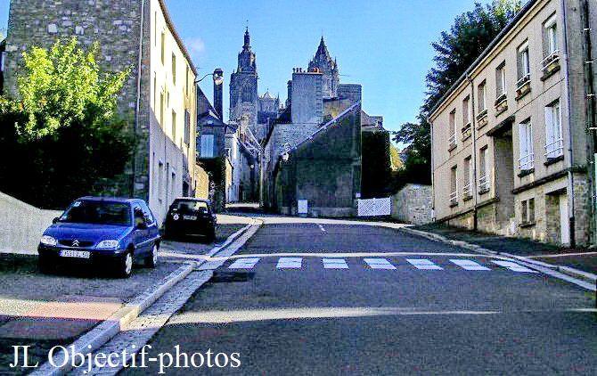 Eglise Saint Pierre et cathédrale Notre Dame Coutances, Manche, Normandie