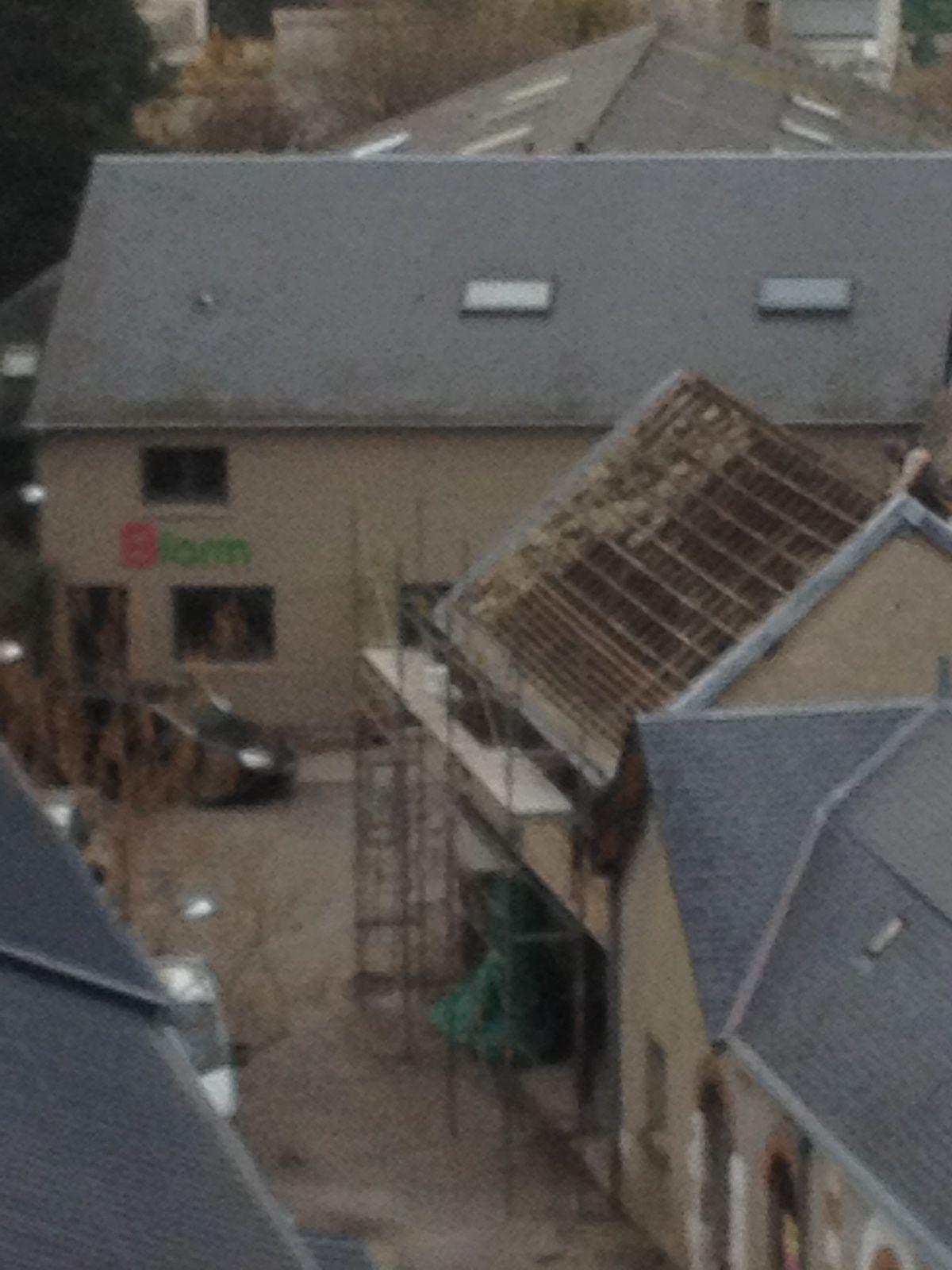 vu a Blois lors de l'un de nos chantiers sur la HALLE AUX GRAINS