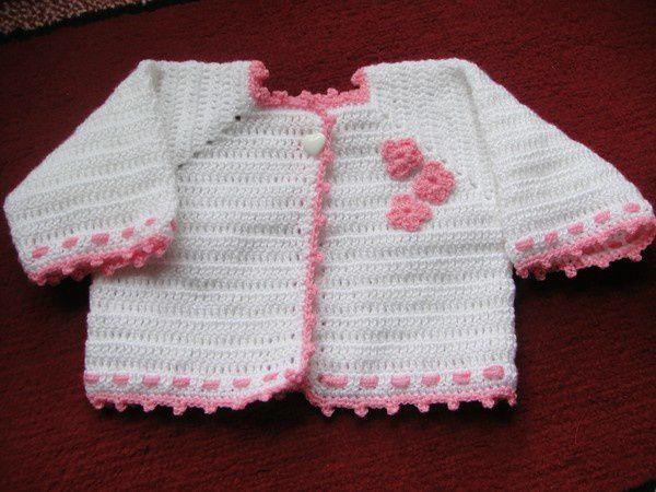 Gilet bébé de 1 à 3 mois (2)