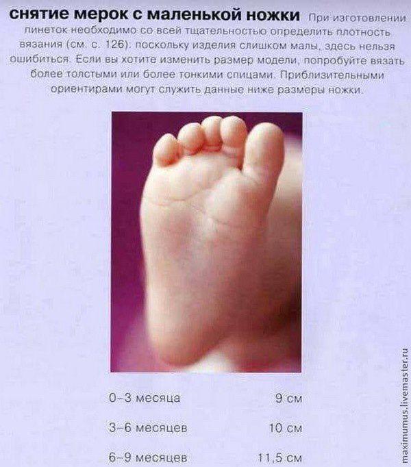 Sandale bébé , avec son pas à pas en images !