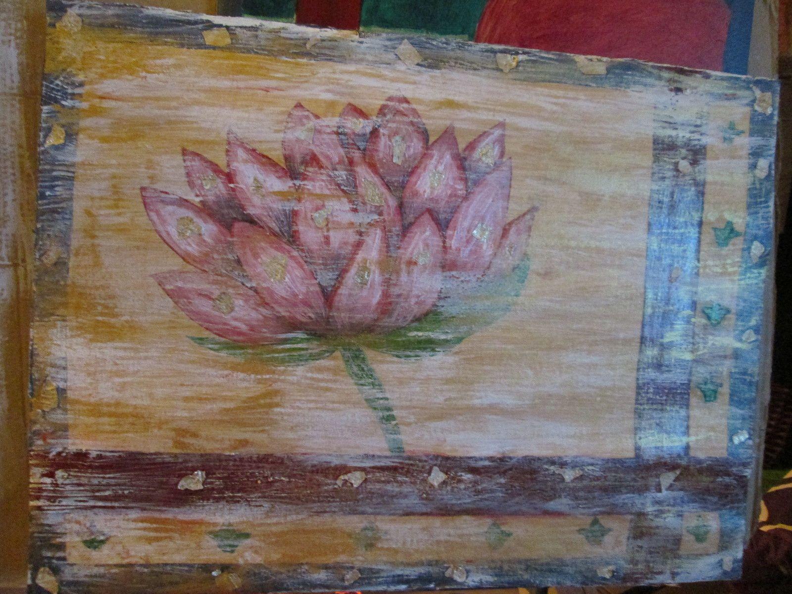 Evolution de la fleur de lotus