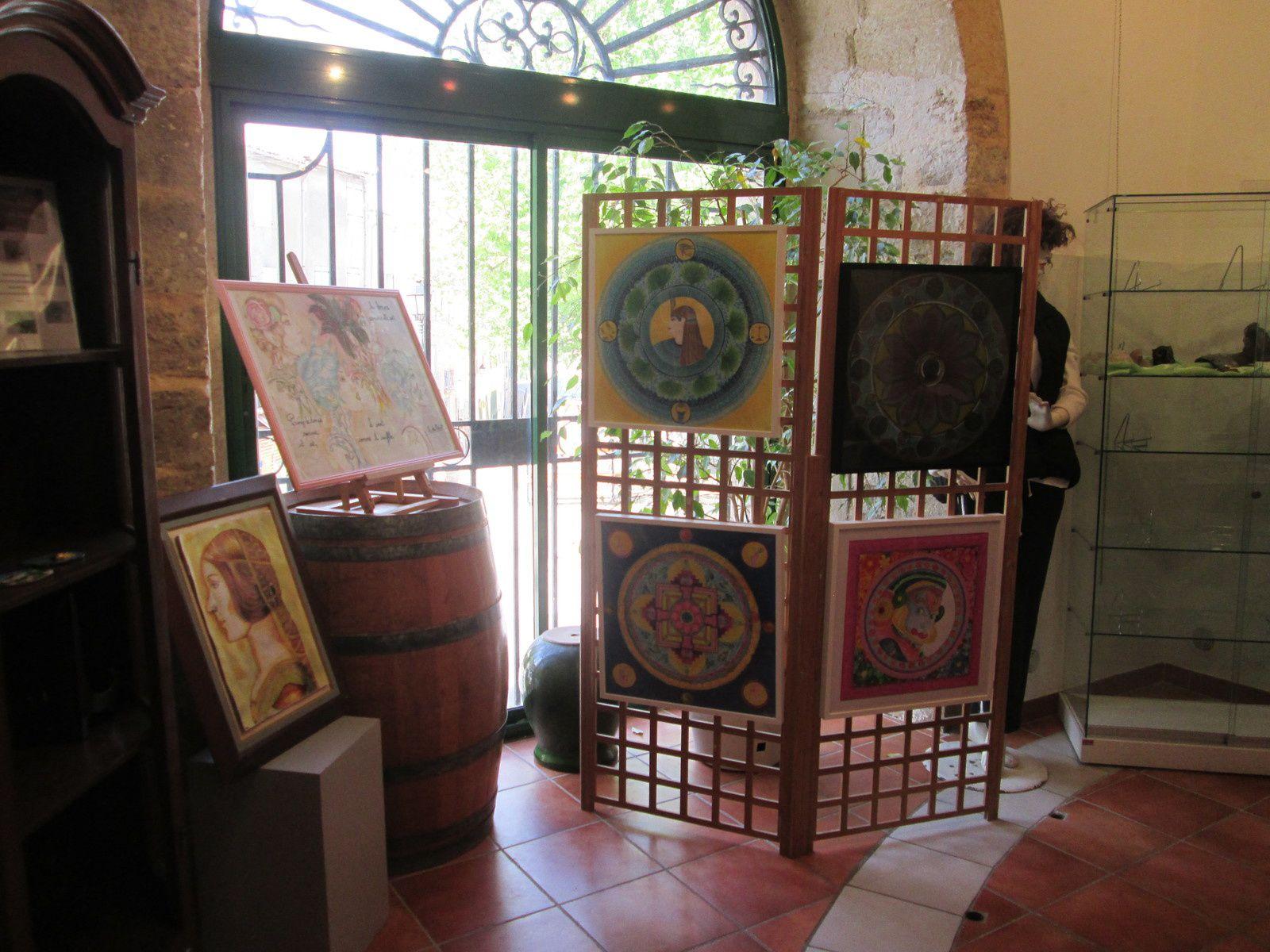 Notre exposition à Rians 05/2015