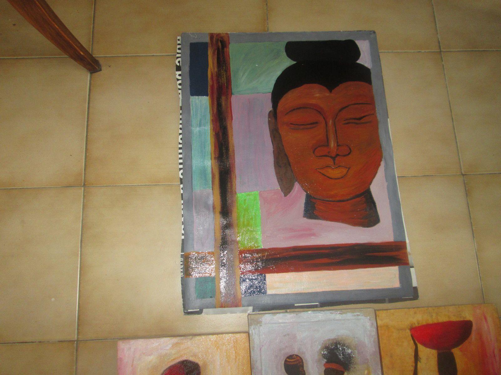 Les peintures en cours au 14/03/2016
