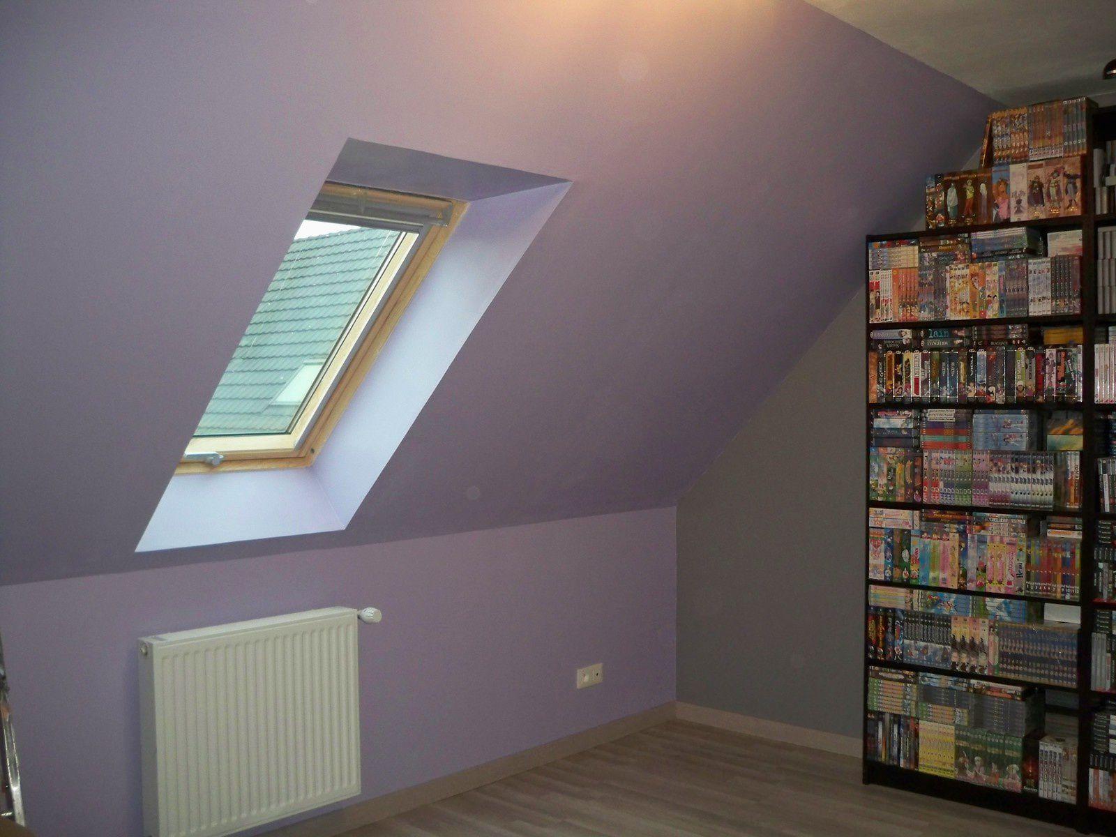 La peinture des chambres : la chambre du bébé : bleu et lin la ...