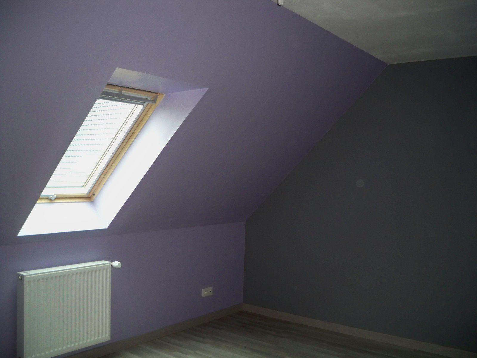 la peinture des chambres la chambre du b b bleu et lin la chambre d 39 ami lila. Black Bedroom Furniture Sets. Home Design Ideas