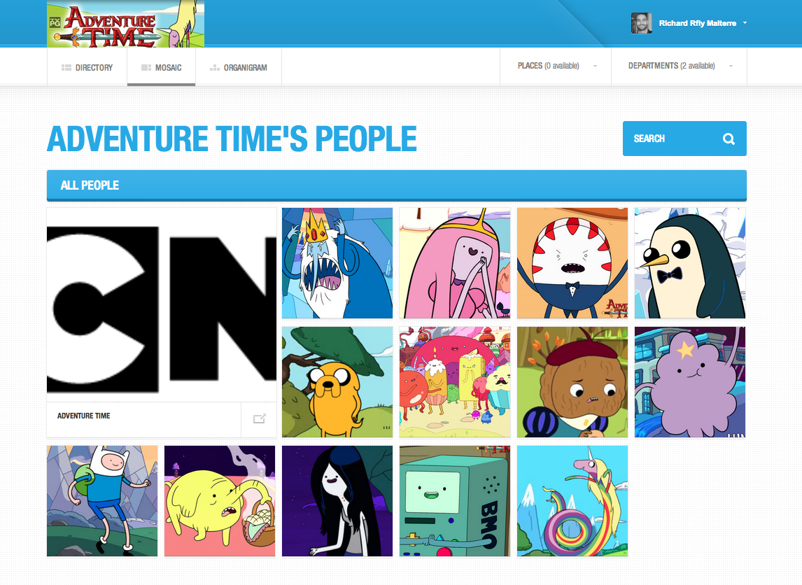 Adventure Time directory