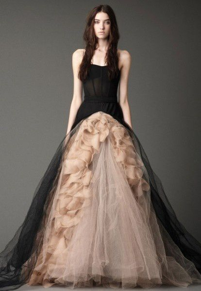 Do You Want To Try Black Wedding Dress Evening Dresses