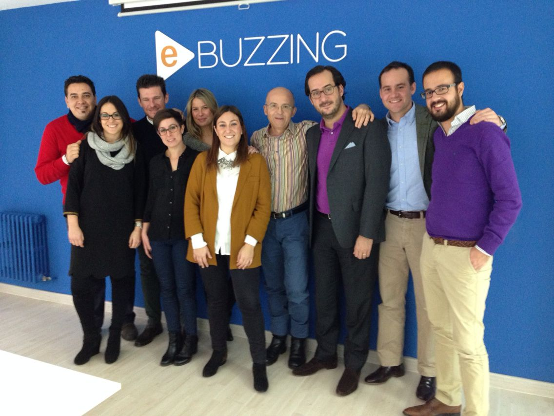 With our amazing Spanish team in #Madrid