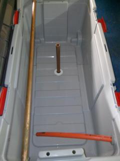 Vivier barque