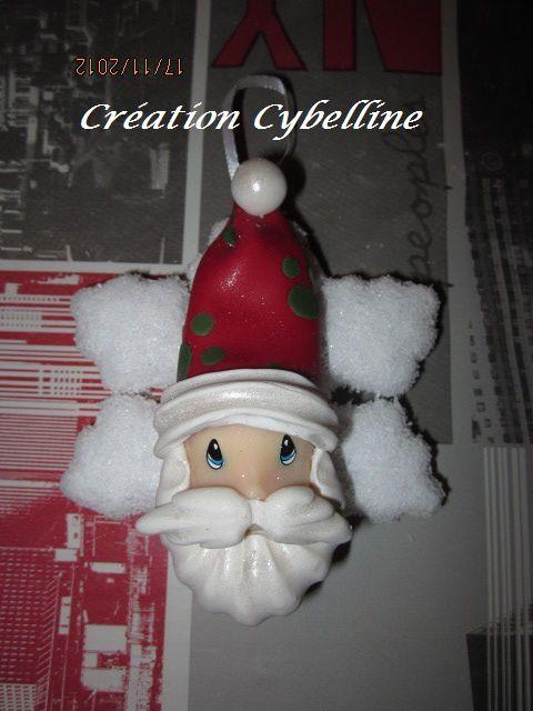 Décorations de Noël en porcelaine froide