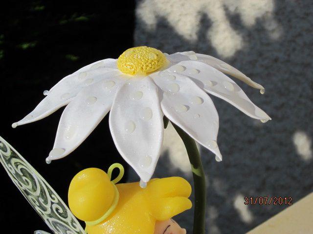 La Fée Clochette en porcelaine froide