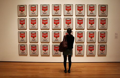 """""""Campbell's Soup cans"""", Andy WARHOL, 1962"""