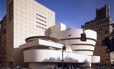 Musée Guggenheim, 1959, New-York USA, architecte Frank Lloyd Wright.