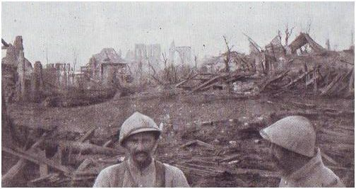 CLERY  1916(les ruines)