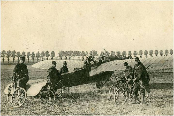 TYPE D'AVION TOMBE LE 5 SEPTEMBRE 1914
