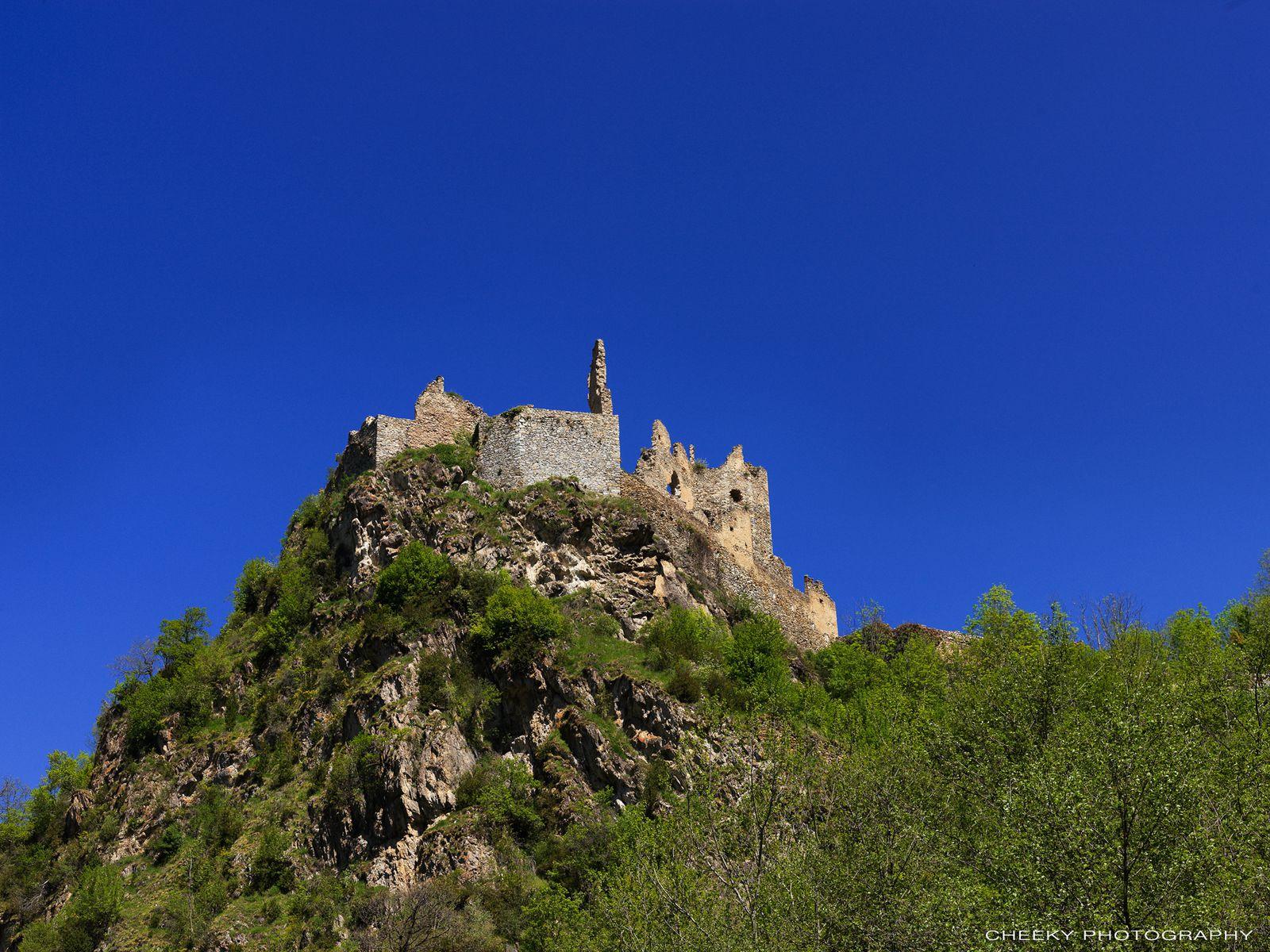 Les ruines du Chateau d'Usson (Ariège)