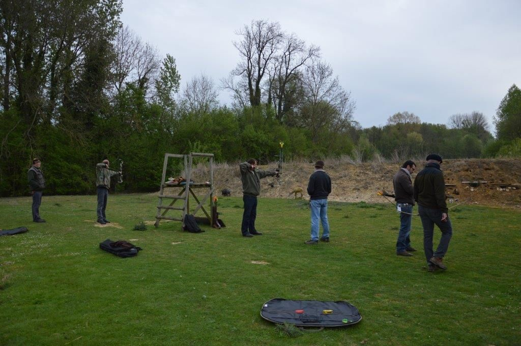 Entrainement à la Fédération des chasseurs de l'Oise à Agnetz