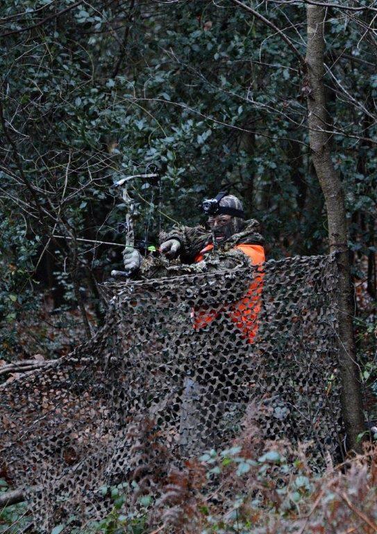 Des archers dans la forêt de Compiègne