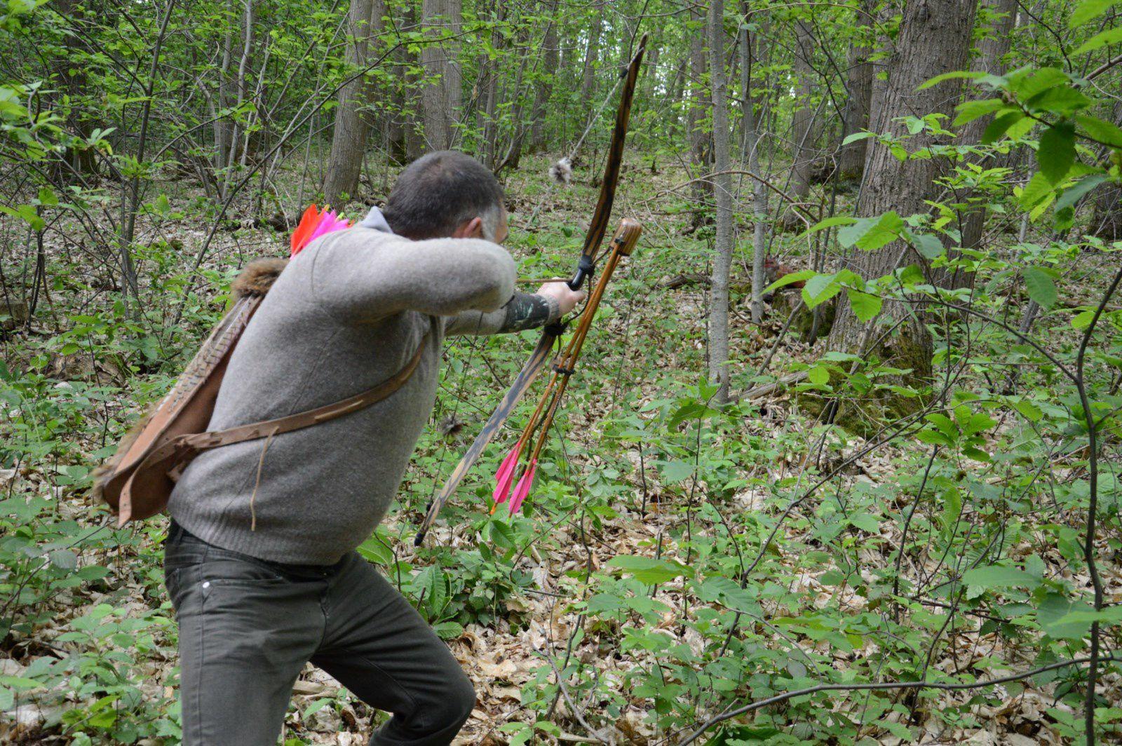 Des archers à Tremblay sur Mauldre (78)