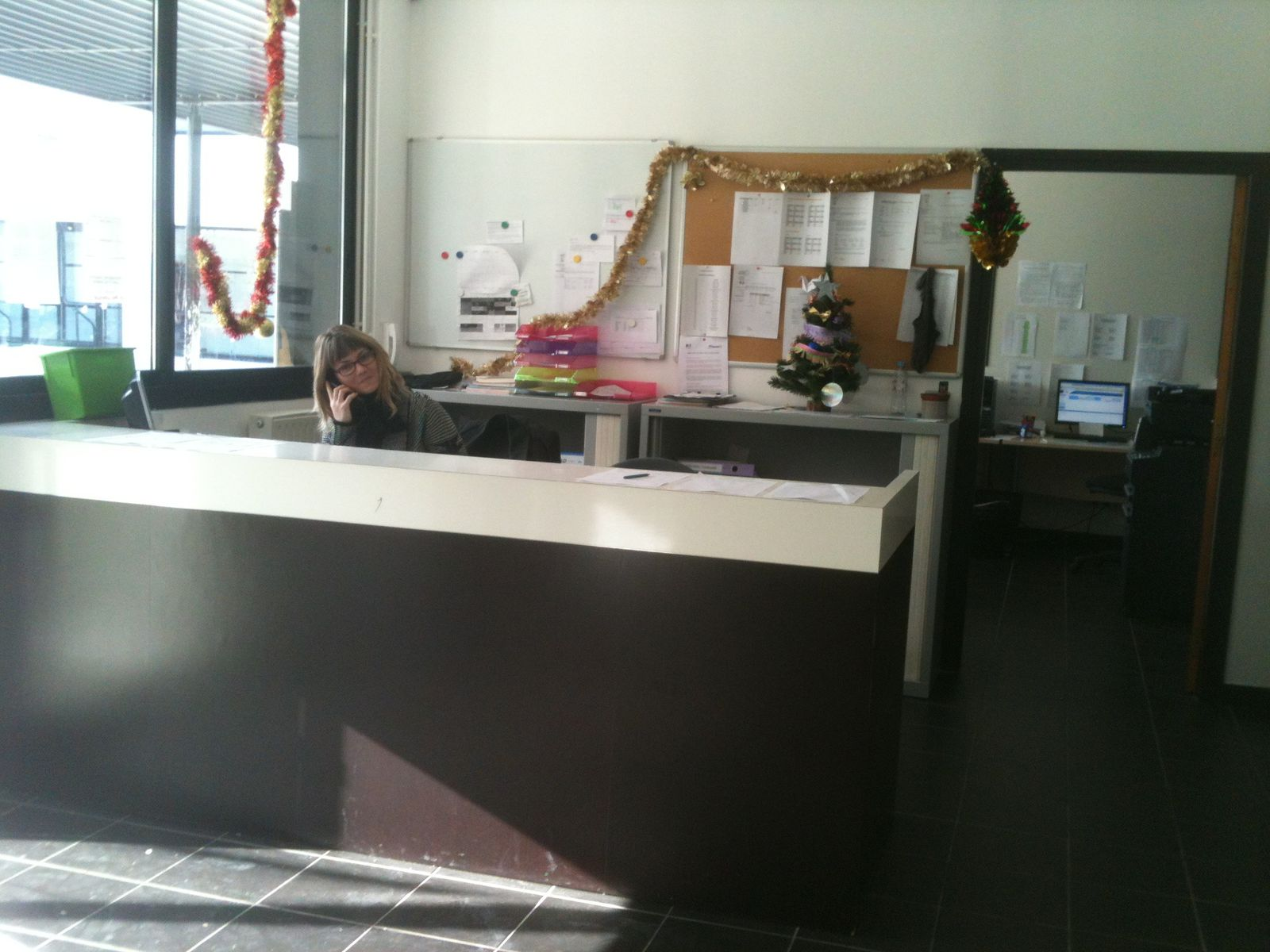 This is the scholarship office.