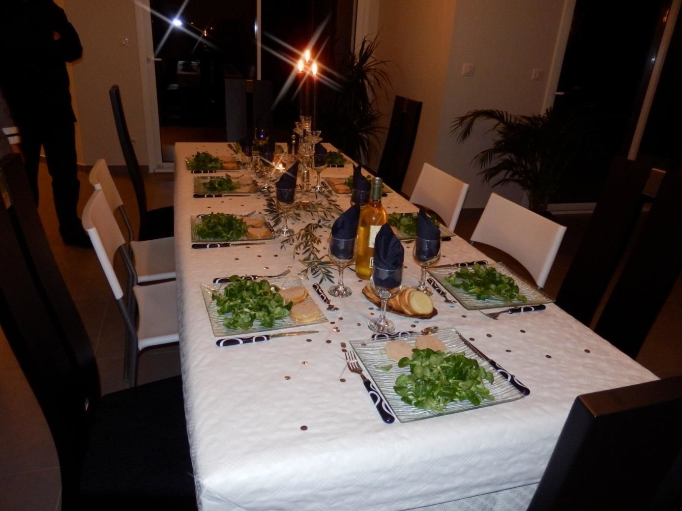 Christmas Eve dinner at Loïc's – how delicious !