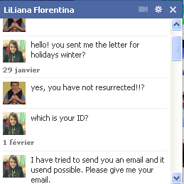 Here are our email correspondence and facebook chats with our penpals in Romania.