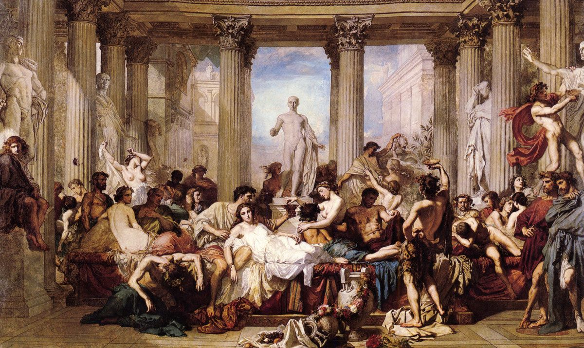 The Romans of Decadence de T.Couture