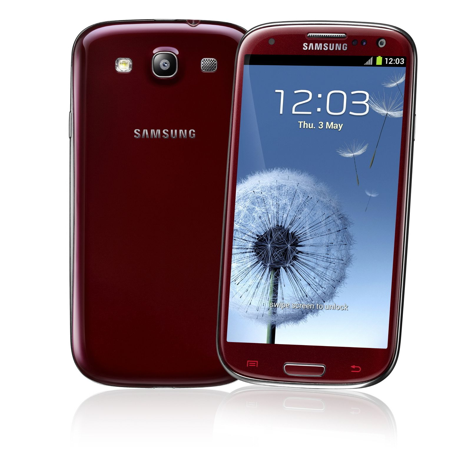 samsung galaxy siii gt i9300 16gb rot preis 448 bei. Black Bedroom Furniture Sets. Home Design Ideas