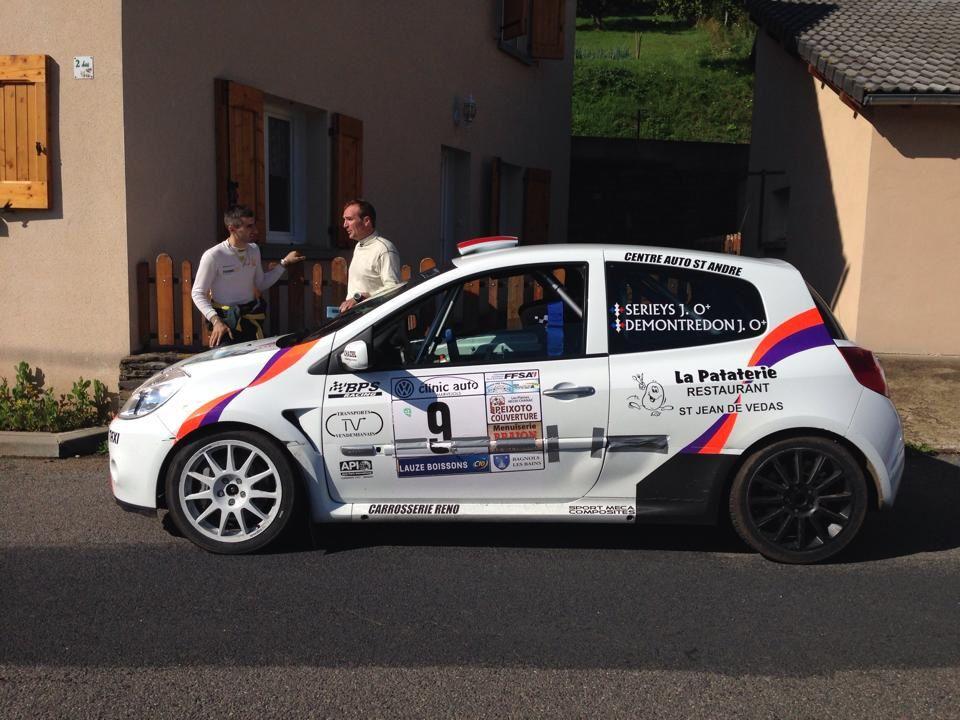 Rallye de Bagnols les Bains