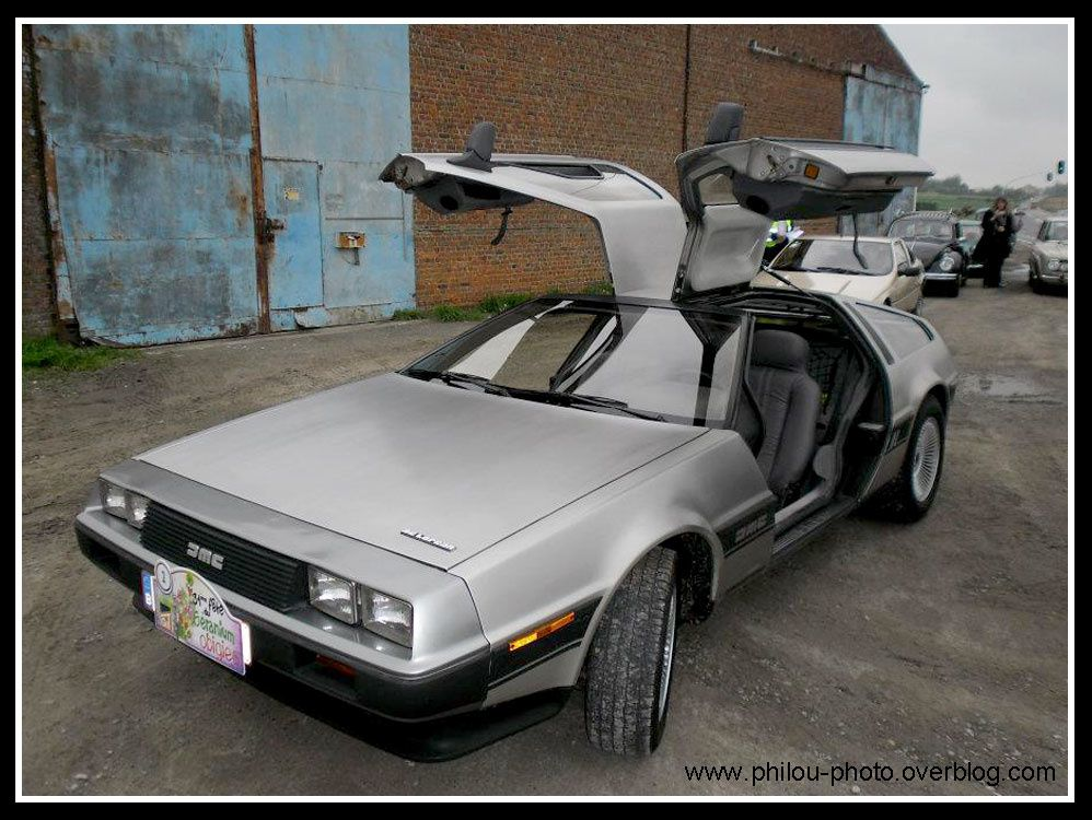 delorean philou photo. Black Bedroom Furniture Sets. Home Design Ideas