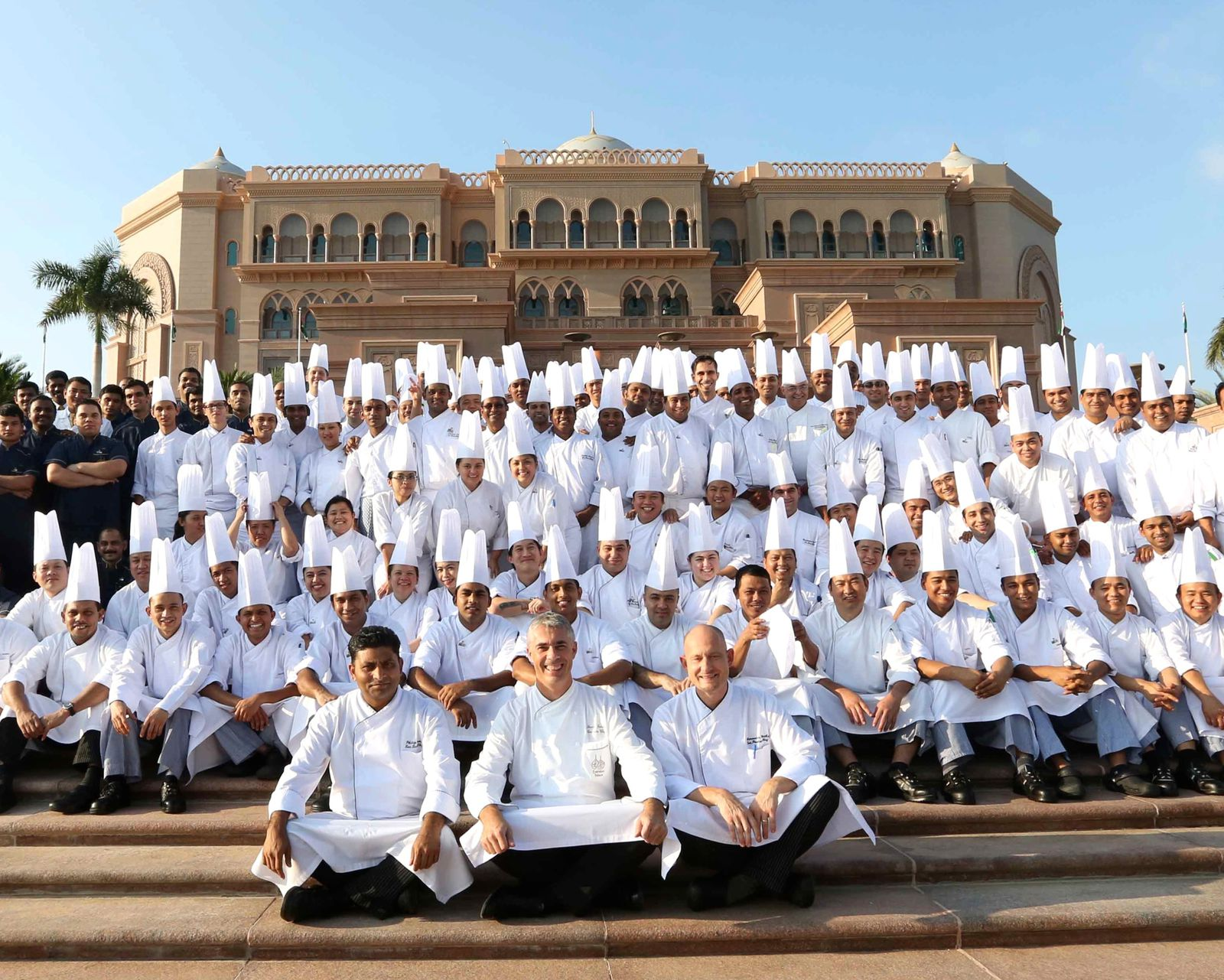 The Culinary Emirates Palace Team 2013