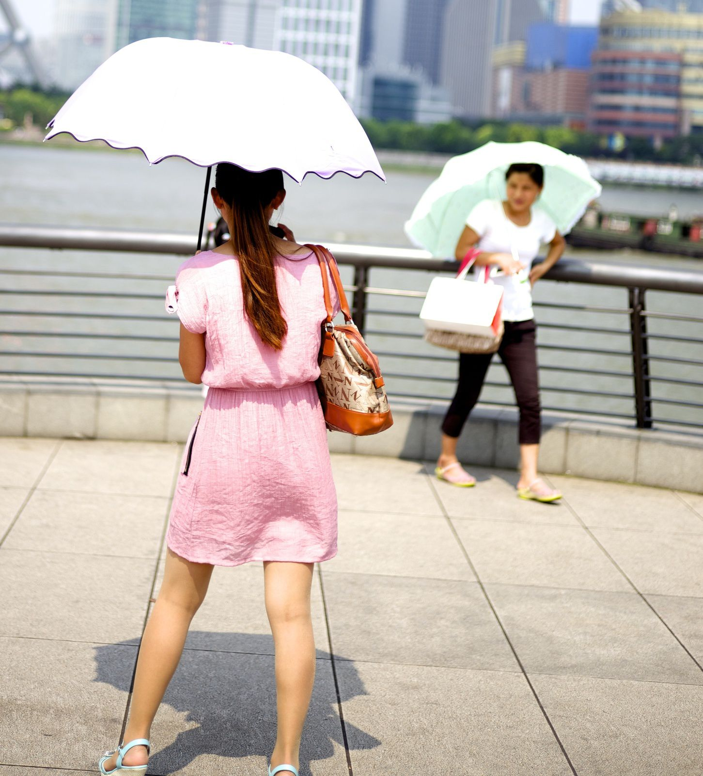 Good weather and Umbrellas in Shanghai…