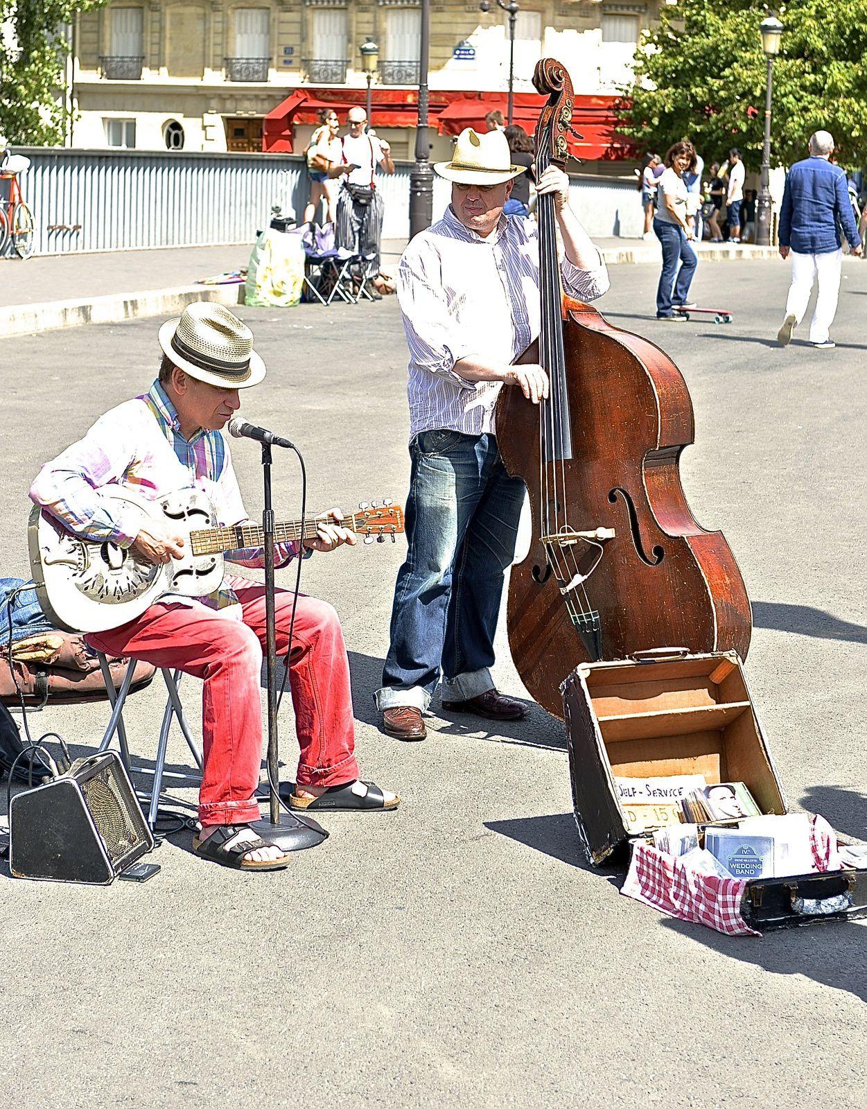 The artists in Paris Montmartre.