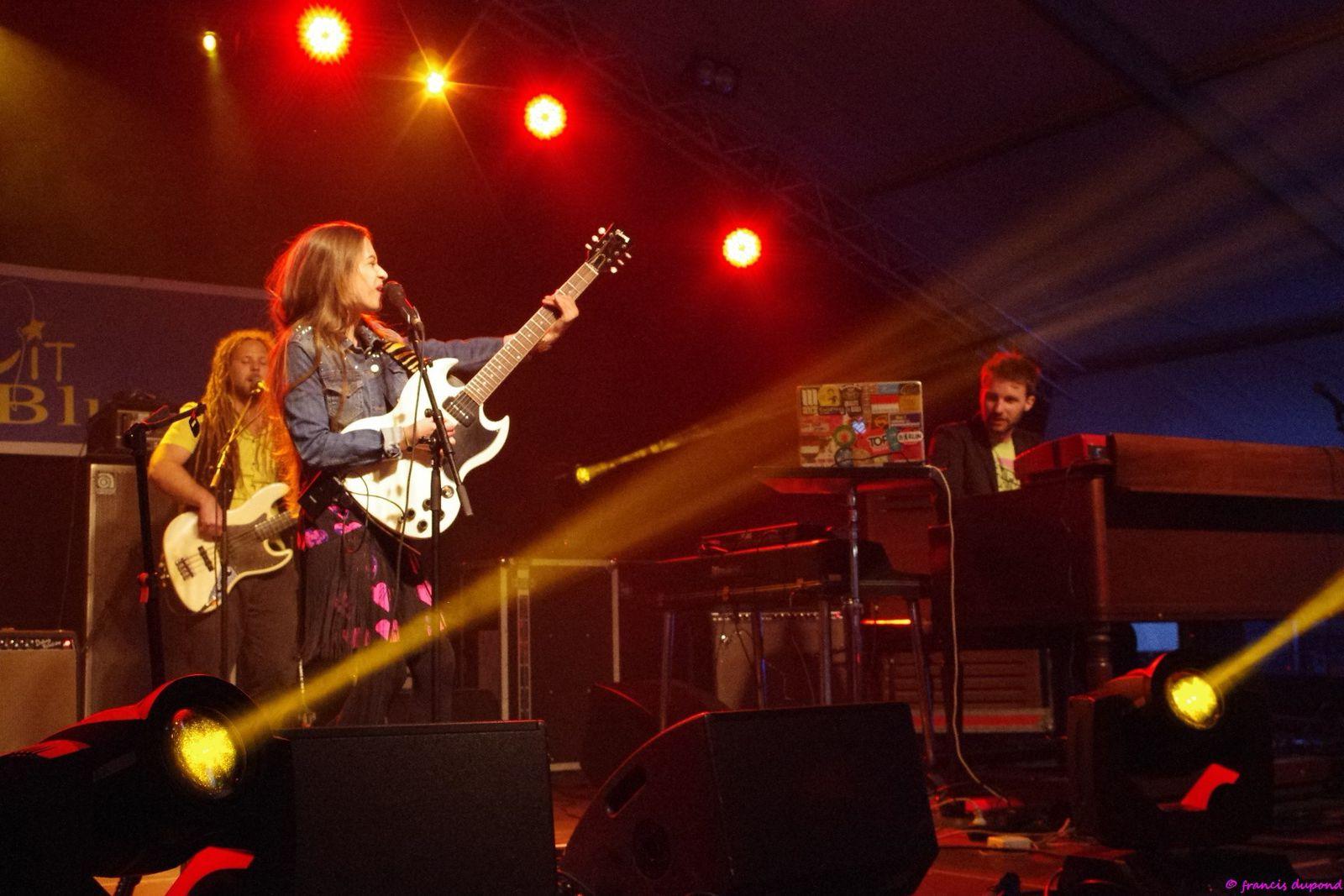 Nina Attal Band - Nuit du Blues 2013 - Charleroi (B)