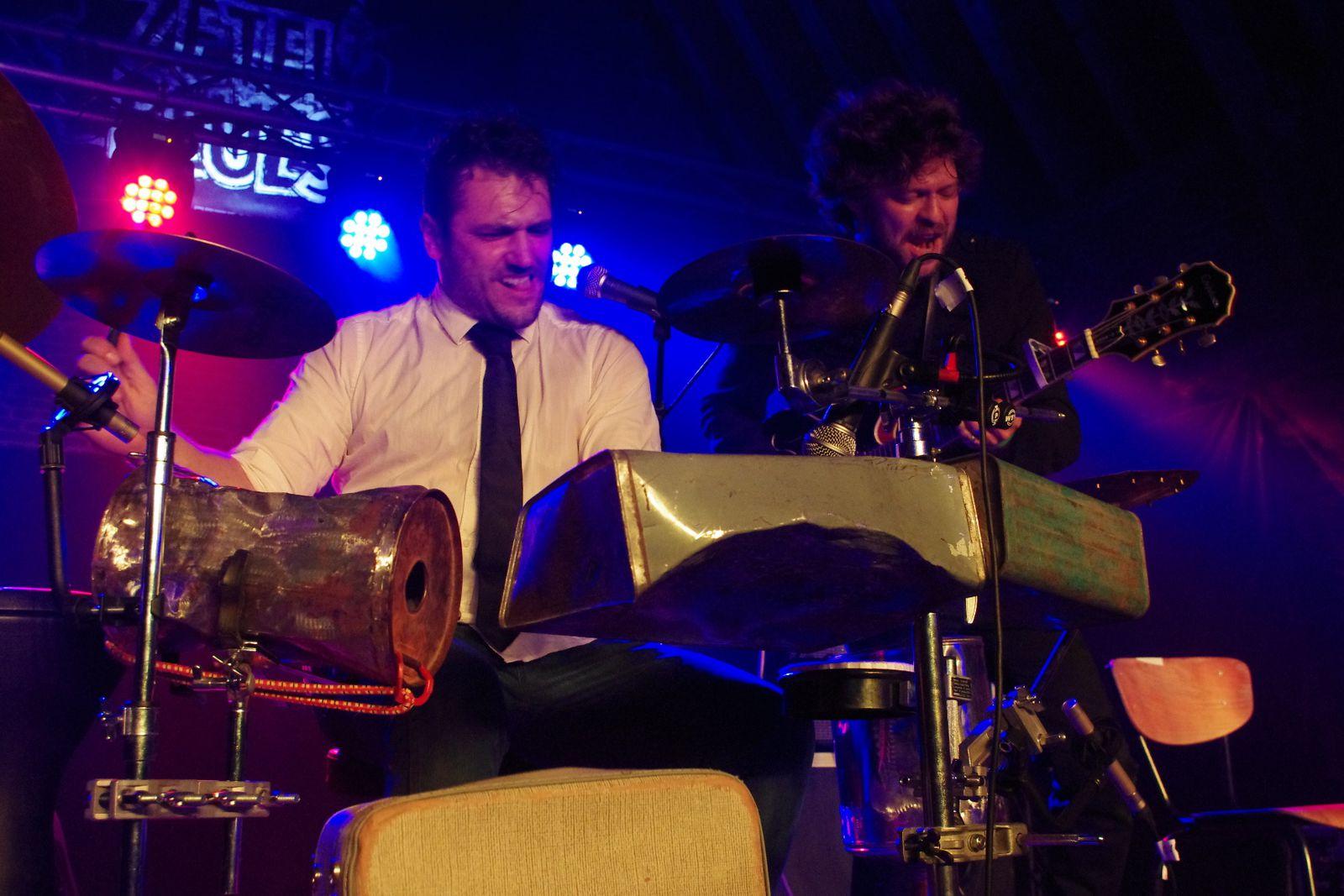 Mathis Haug & Stephan Notari - Zetel Blues 2013 - Gullegem (B)