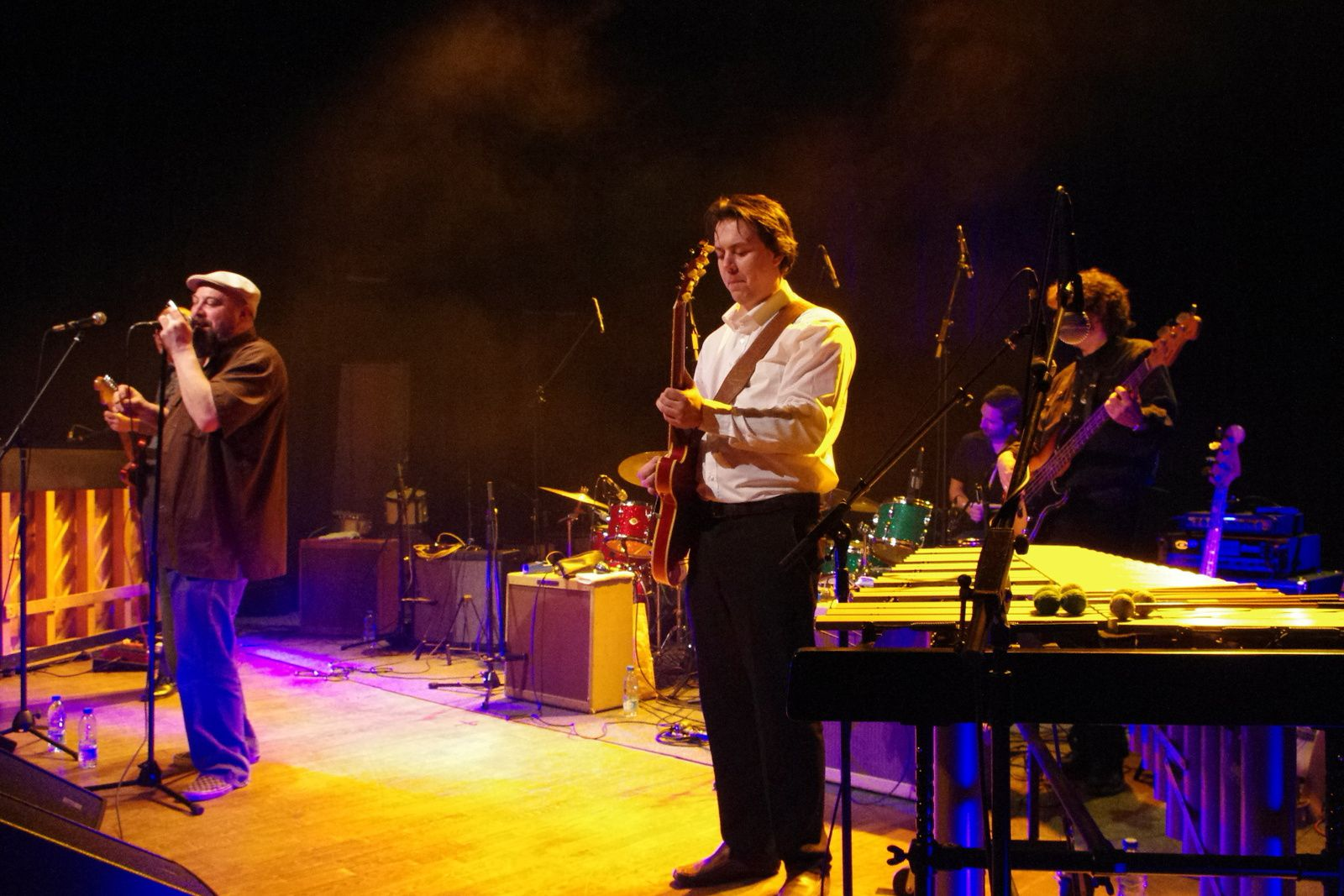 Les 50 ans de batterie de Willie Maze - 31 janvier 2014 - 7 nights to blues, St André lez Lille (59)