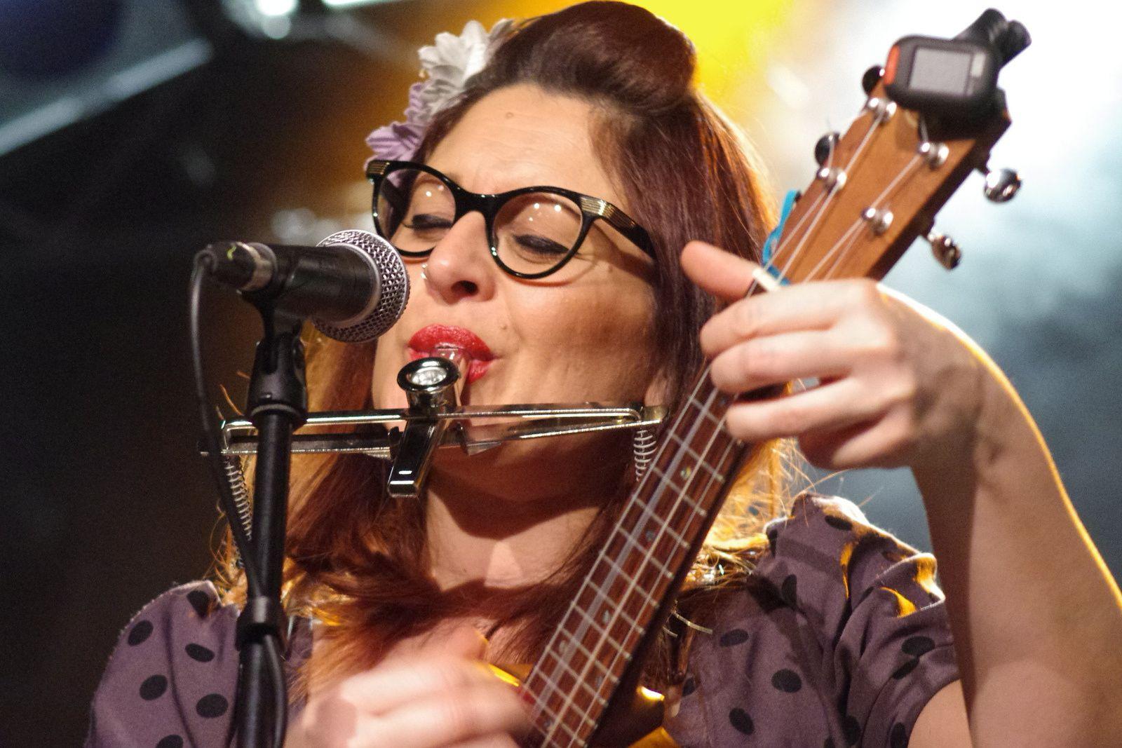 Veronica & The Red Wine Serenaders - 12 mars 2014 - La Boite à Musiques, Wattrelos (59)