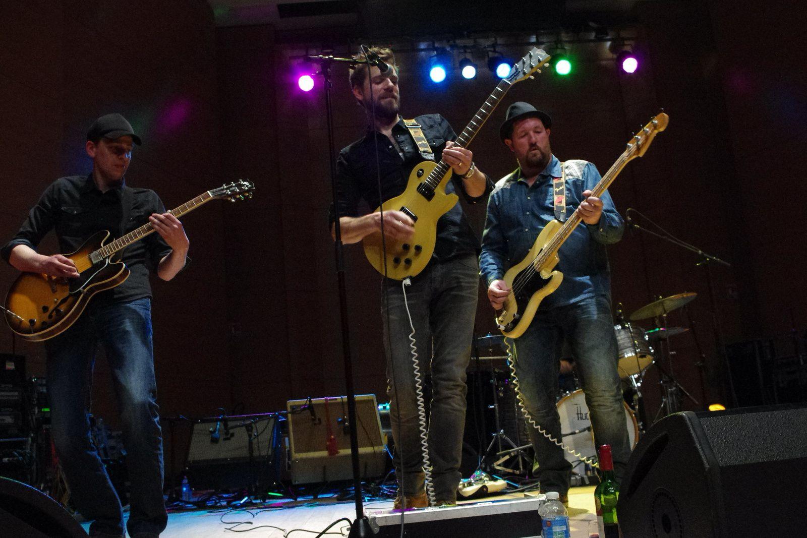 Rusty Roots et les cuivres de la section jazz - 11 avril 2014 - Conservatoire de Tourcoing (59)