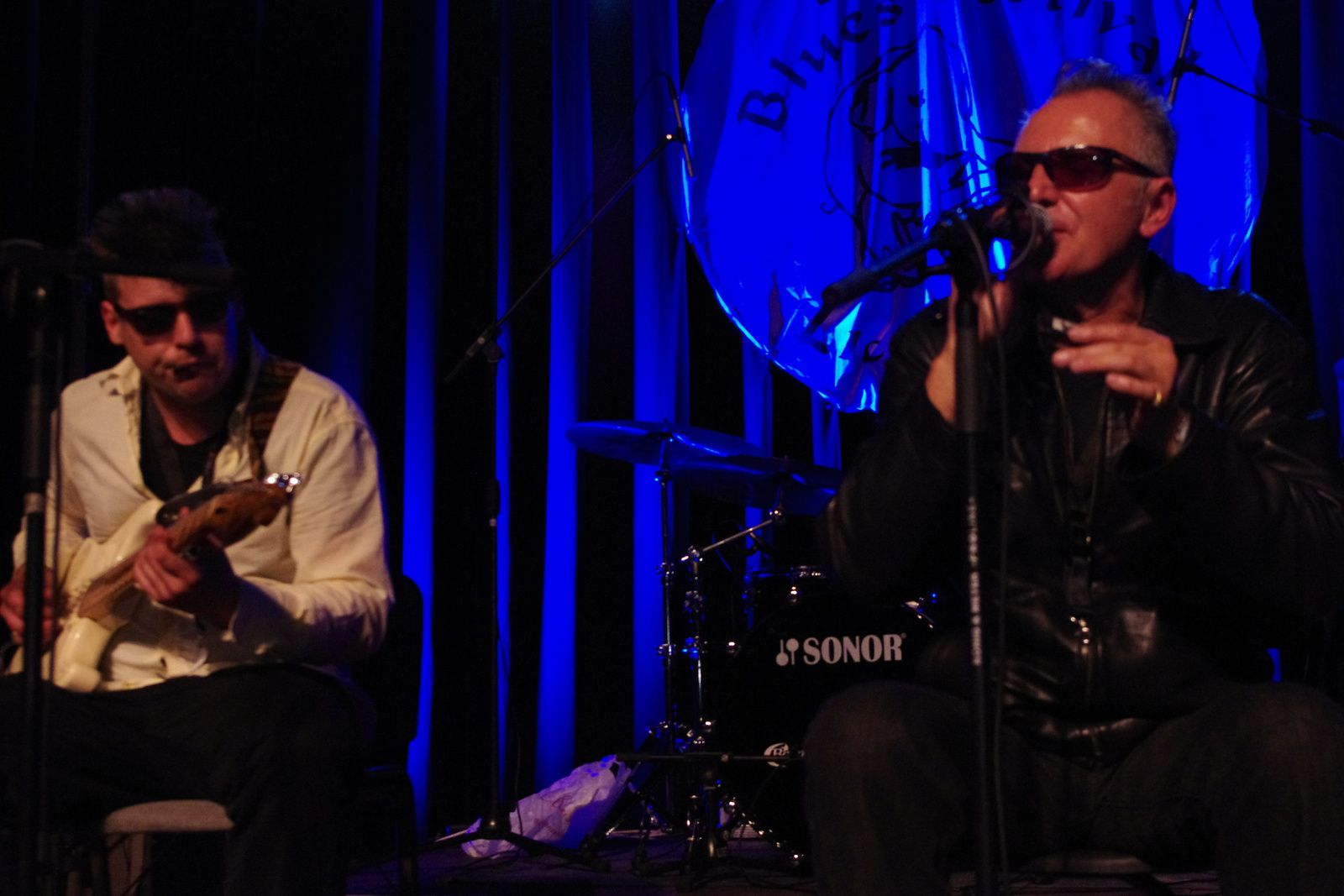 Paul Lamb & Chad Strentz - 19 avril 2014 - Delirium Blues festival, Lichtervelde (B)