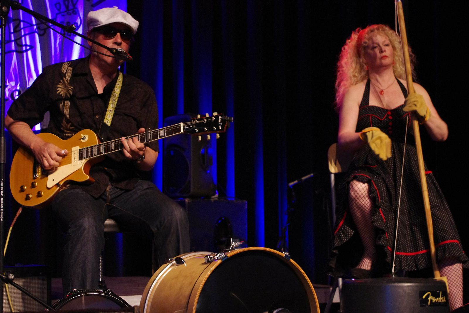 Black Cat Joe & Miss Corina - 19 avril 2014 - Delirium Blues festival, Lichtervelde (B)